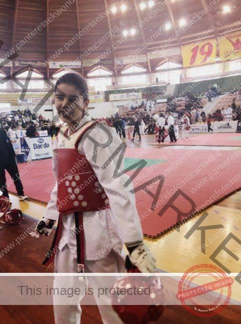 La campionessa interregionale Aurora Vittoria Privitera