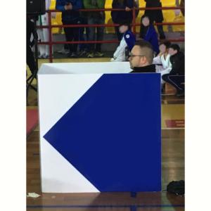 Il coach attento all'incontro